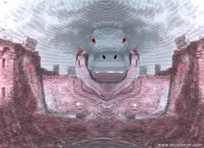 the pink castle hippo.