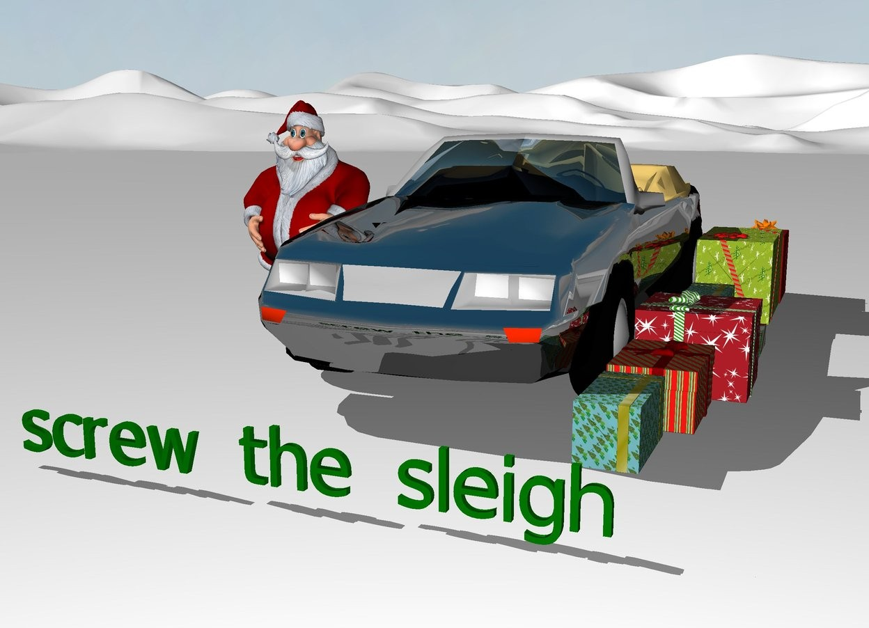 Who Needs A Sleigh Anyway By 2022clairel On Wordseye
