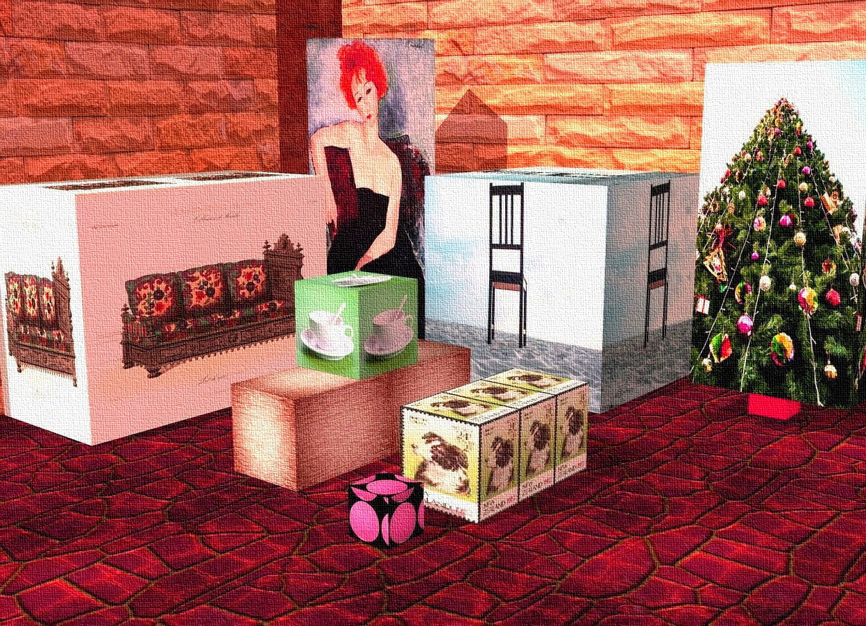 Living room cubes by nheiges on wordseye for 6 foot wide living room