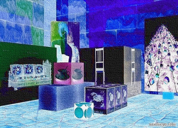 Living room cubes 2 by nheiges on wordseye for 6 foot wide living room