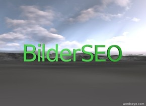 green SEO is on the right on the ground of green Bilder