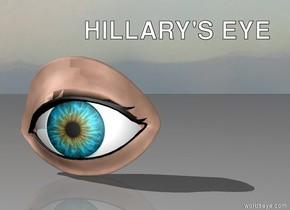 huge eye