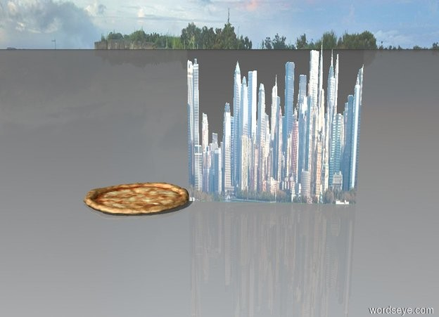 Input text: city of pizza
