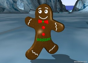Big gingerbread man