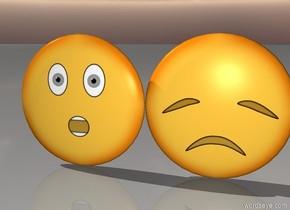 emojis being friends.