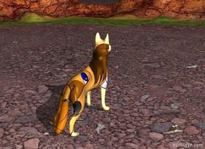 The huge [image-11556] dog.