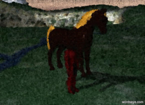 horse in hell