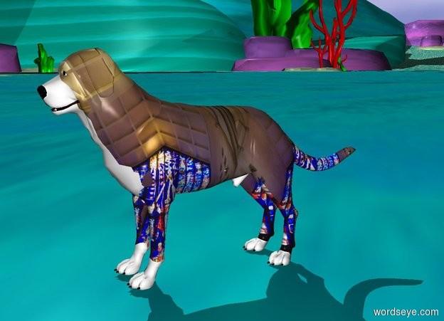 Input text: A [big] dog