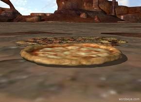a big pizza