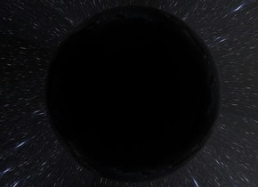 Ground is transparent.  Sky is shiny [space2].  A 5 feet wide black opaque sphere -300 feet in the ground.  A 6 feet wide shiny glass sphere 5 feet in the black opaque sphere.  A 45 feet wide shiny glass sphere 30 feet in the black opaque sphere.  A 50 feet wide clear sphere 44.5 feet in the 45 feet wide shiny glass sphere.  A 500 feet  wide clear sphere 250 feet in the glass sphere.  A white light -2 feet in the third clear sphere.  Camera light is white