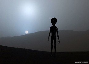 The [image-12315] backdrop. The alien is black.