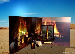 a fire room