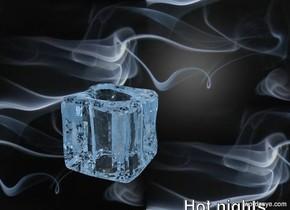 The  image  backdrop. crushed lightblue ice