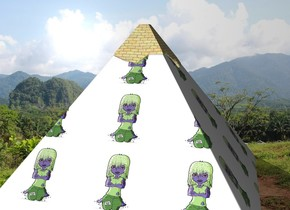 vampire pyramid in thailand