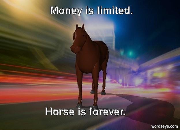 Input text: Horse