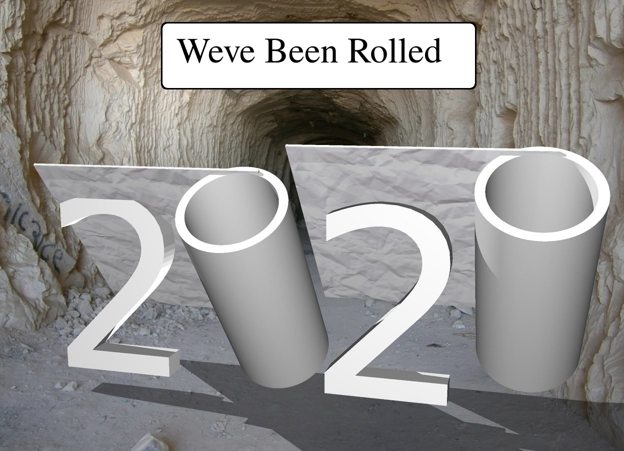 """Input text: The """"2 2"""". the 1st large roll is -20 inches above and -25 inches to the left of the """"2 2"""". The roll is leaning 40 degrees to the front. A 2nd large  roll is -14 inches to the right of the """"2 2"""".the 2nd roll is leaning 40 degrees to the front."""