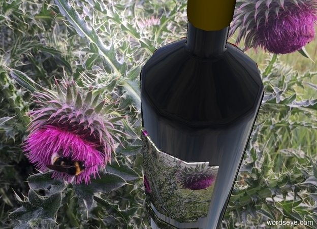 Input text: image-15245 backdrop. Label of a bottle is image-15245